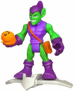 Marvel Playskool Super Hero Adventures Mini Figure Green Goblin [Bagged]