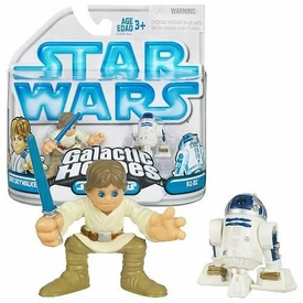 Star Wars Galactic Heroes Mini Figure 2-Pack Luke Skywalker & R2-D2
