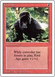 Magic the Gathering Revised Edition Single Card Common Kird Ape