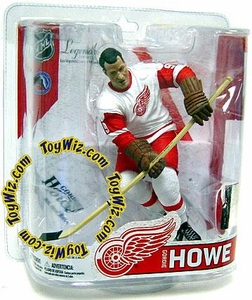 McFarlane Toys NHL Sports Picks Legends Series 6 Action Figure Gordie Howe (Detroit Red Wings) White Jersey