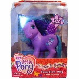 My Little Pony Butterfly Island Sunny Scent Pony Figure Lavender Lake