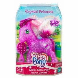 My Little Pony Crystal Princess Divine Shine Pony Flower Garland