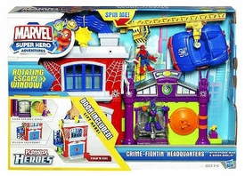 Marvel Playskool Super Hero Adventures Playset Crime Fightin' Headquarters