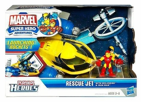Marvel Playskool Super Hero Adventures Deluxe Vehicle Rescue Jet