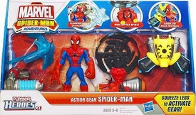 Marvel Playskool Spider-Man Adventures Deluxe Spider-Man Action Gear Set BLOWOUT SALE!