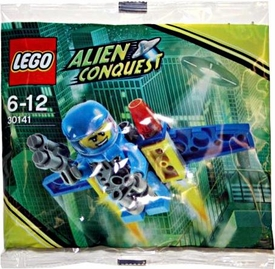 LEGO Alien Conquest Mini Figure Set #30141 ADU Jet Pack [Bagged]