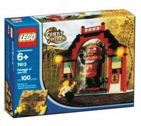 LEGO Orient Expedition Set #7413 Passage of Jun Chi