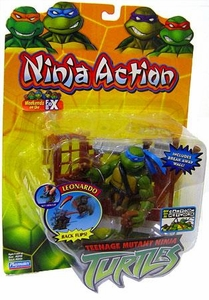 Teenage Mutant Ninja Turtles TMNT Action Figure Ninja Action Leonardo