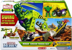 Marvel Playskool Hulk Adventures Playset Hulk Smash Track Set
