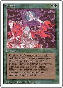 Magic the Gathering Revised Edition Single Card Uncommon Channel