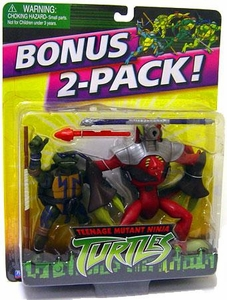Teenage Mutant Ninja Turtles TMNT Fast Forward Action Figures BONUS 2-Pack Donatello and Razorfist