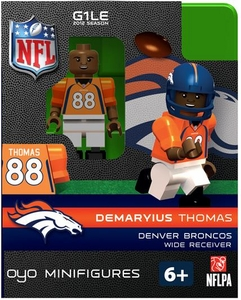 OYO Football NFL Building Brick Minifigure Demaryius Thomas [Denver Broncos]