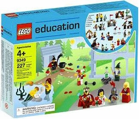 LEGO Education Minifigure Set #9349 Fairytale & Historic Mini Figures