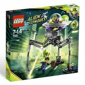 LEGO Alien Conquest Set #7051 Tripod Invader