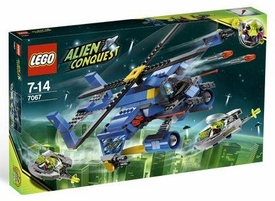 LEGO Alien Conquest Set #7067 Jet-Copter Encounter