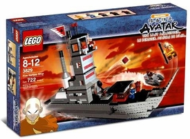 LEGO Avatar the Last Airbender Set #3829 Fire Nation Ship