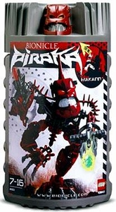 LEGO Bionicle PIRAKA Figure #8901 Hakann [Red]