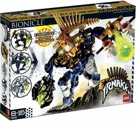LEGO Bionicle Set #8626 Irnakk with Exclusive Unique Gold Spine Impossible to Find!