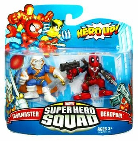 Marvel Super Hero Squad Series 19 Mini 3 Inch Figure 2-Pack Taskmaster & Deadpool