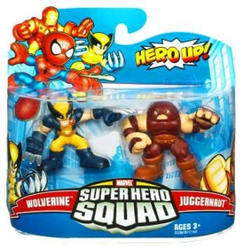 Marvel Super Hero Squad Series 19 Mini 3 Inch Figure 2-Pack Wolverine & Juggernaut