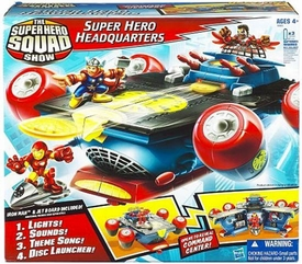 Hasbro Marvel Super Hero Squad Super Hero Headquarters [Iron Man Mini Figure!]