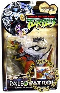 Teenage Mutant Ninja Turtles Action Figure Paleo Patrol Raptor