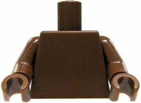 LEGO LOOSE Torso Brown with Brown Hands
