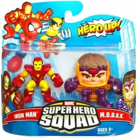Marvel Super Hero Squad Series 16 Mini 3 Inch Figure 2-Pack Iron Man & M.O.D.O.K.