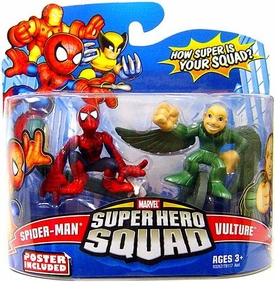 Marvel Super Hero Squad Series 15 Mini 3 Inch Figure 2-Pack Spider-Man & Vulture