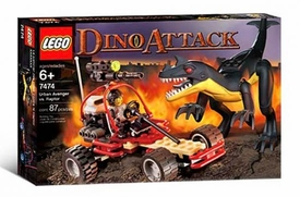 LEGO Dino Attack Set #7474 Urban Avenger vs. Raptor