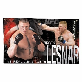 Wincraft UFC & MMA Mixed Martial Arts Wall Banner Brock Lesnar
