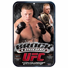 Wincraft UFC & MMA Mixed Martial Arts Sign Brock Lesnar