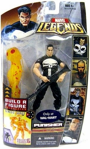 Marvel Legends Exclusive Nemesis Build-A-Figure Wave Action Figure Punisher [Modern]