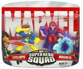 Marvel Super Hero Squad Series 1 Mini 3 Inch Figure 2-Pack Magneto & Cyclops