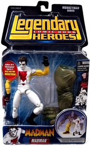 Legendary Heroes Marvel Toys Series 2 Action Figure Madman [Yellow Sleeves]