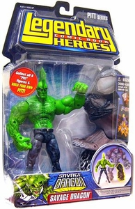 Legendary Heroes Marvel Toys Series 1 Action Figure Savage Dragon [No Shirt]