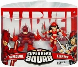 Marvel Super Hero Squad Series 2 Mini 3 Inch Figure 2-Pack Daredevil & Elektra