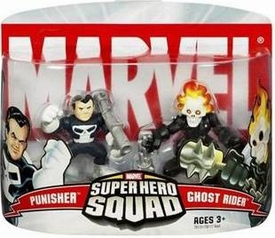 Marvel Super Hero Squad Series 2 Mini 3 Inch Figure 2-Pack Ghost Rider & Punisher