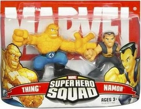 Marvel Super Hero Squad Series 3 Mini 3 Inch Figure 2-Pack Namor & The Thing