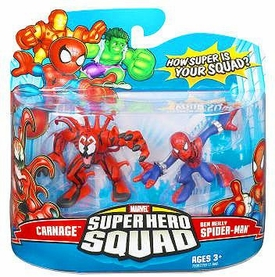 Marvel Super Hero Squad Series 8 Mini 3 Inch Figure 2-Pack Ben Reilly Spider-Man & Carnage