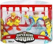 Marvel Super Hero Squad Series 5 Mini 3 Inch Figure 2-Pack Iceman & Pyro
