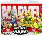 Marvel Super Hero Squad Series 5 Mini 3 Inch Figure 2-Pack Thor & Loki