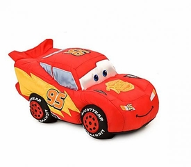 Disney / Pixar CARS Movie 9 Inch Plush Figure Lightning McQueen
