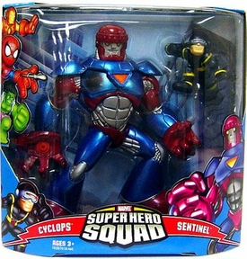 Marvel Super Hero Squad Series 3 Mega Pack Sentinel 2 & Cyclops