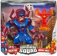 Marvel Super Hero Squad Series 1 Mega Pack Galactus & Human Torch
