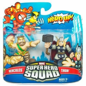 Marvel Super Hero Squad Series 20 Mini 3 Inch Figure 2-Pack Hercules & Thor