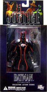 DC Direct Justice League Alex Ross Series 6 Action Figure Armored Batman Damaged Packaging