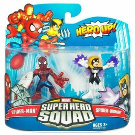 Marvel Super Hero Squad Series 20 Mini 3 Inch Figure 2-Pack Spider-Man & Spider-Woman