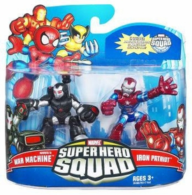 Marvel Super Hero Squad Series 21 Mini 3 Inch Figure 2-Pack War Machine & Iron Patriot
