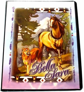 Bella Sara Horses Trading Card Game Collector's Mini Binder Mountain Lion
